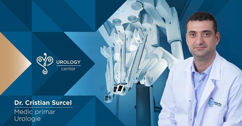 Dr. Cristian Surcel, Medic primar Urologie