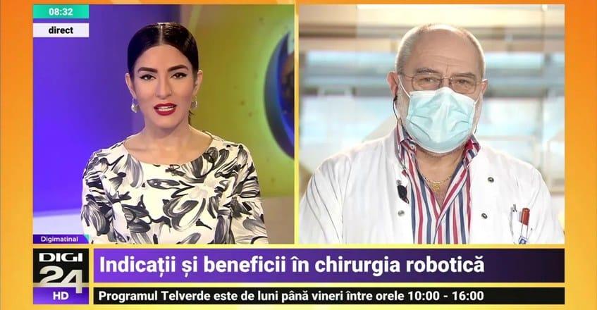 Importanța chirurgiei robotice - Dr. Bogdan Marțian